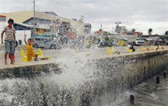 """إعصار """"تشابا"""" يضرب جزيرة جيجو في كوريا الجنوبية.. وانقطاع الكهرباء عن 25 ألف منزل"""