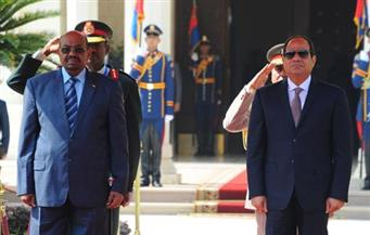 السيسي والبشير يشهدان احتفالات مصر بذكرى انتصارات أكتوبر بوادى الملاك بالإسماعيلية