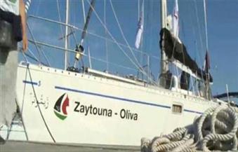 البحرية الإسرائيلية تقتاد سفينة الناشطات المتوجهة إلى غزة الى مرفأ اشدود