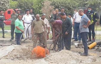 رئيس تاون جاس: كسر بأحد محابس خط الغاز الطبيعي بشارع الحجاز.. وتم غلقه