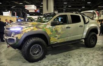 بالصور.. جنرال موتورز والجيش الأمريكي يطوران مركبة تعمل بخلايا الوقود وتنتج مياه في ساحة القتال