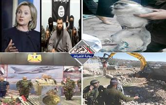 هروب نسناس.. علاقة كلينتون بداعش.. الاستيطان الإسرائيلي.. احتفالات مصرية بنشرة منتصف الليل