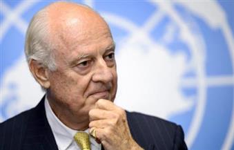 """دي ميستورا يشارك في المفاوضات السورية بـ""""سوتشي"""" مندوبا عن الأمم المتحدة"""