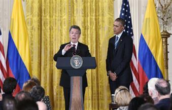 أوباما يشيد بشجاعة الرئيس الكولومبي بعد فوزه بجائزة نوبل للسلام
