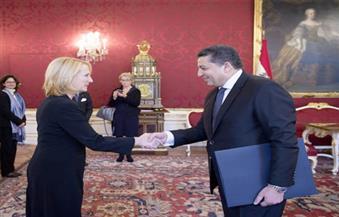 سفير مصر الجديد لدى النمسا يقدم أوراق اعتماده