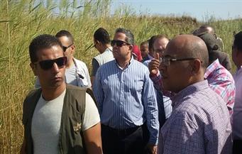 وزير الآثار يتفقد منطقة إهناسيا غرب بني سويف ويبحث مع المحافظ مشكلة المياه الجوفية