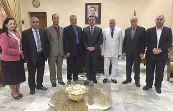 نقيب المعلمين في سوريا للقاء وزير التربية وبحث التعاون المشترك مع الاتحاد العربي