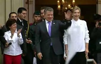بالفيديو.. احتفالات في كولومبيا بعد فوز رئيسها بجائزة نوبل للسلام