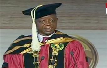 رئيس البرلمان الإفريقي فى مؤتمر شرم الشيخ: أرى فى الرئيس السيسى جمال عبدالناصر