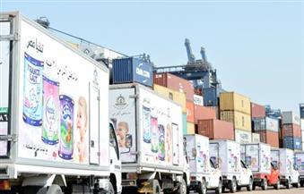 ميناء الدخيلة يستقبل الدفعة الثانية من شحنات ألبان الأطفال التي استوردتها القوات المسلحة
