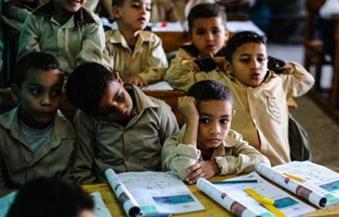 طلاب مدرسة إعدادي يمتنعون عن الذهاب للمدرسة في أسوان بسبب كثافة الفصول
