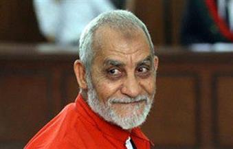 تأجيل محاكمة بديع و738 متهمًا فى فض اعتصام رابعة لـ ١٩ نوفمبر