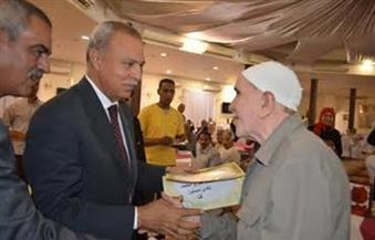 بالصور ...محافظ قنا يشهد الاحتفال باليوم العالمي للمسن