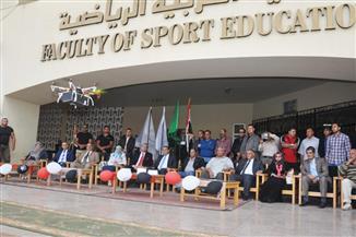 كلية التربية الرياضية بجامعة المنصورة تحتفل بانتصارات أكتوبر