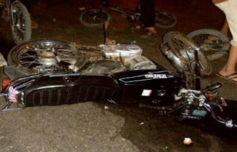 مصرع شخص وإصابة 3 في حادث تصادم دراجتين بخاريتين بأسوان