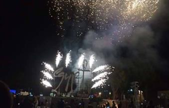 """بالصور.. انطلاق الحفل الختامى للدورة 104 لـ""""منظمة السياحة العالمية"""" من معبد الأقصر"""