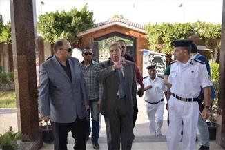 بالصور.. محافظ الإسماعيلية ومدير الأمن يتفقدان منظومة المراقبة الإلكترونية