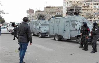 خبراء المفرقعات يمشطون ميدان الشهيد هشام بركات بمدينة نصر