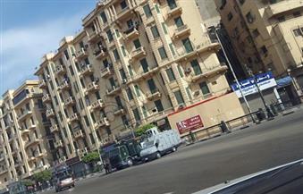 بالصور.. سيولة مرورية شديدة بالقاهرة والجيزة.. وتواجد أمني مكثف في معظم الميادين