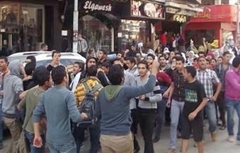 تغريم 3 أحداث 10 آلاف جنيه لاتهامهم بالتظاهر دون تصريح في أوسيم