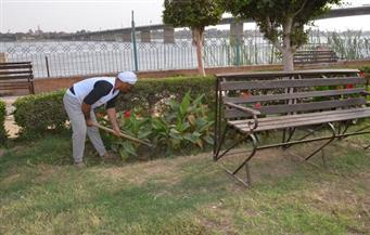 """محافظ بني سويف: حديقة """"سعيد النجار"""" مفتوحة  للجمهور بـ 50 قرشاً قريبًا"""