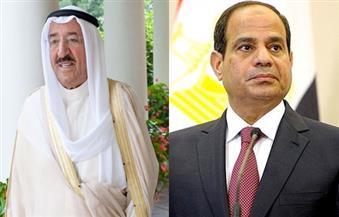 أمير الكويت يعزي السيسي في ضحايا تفجير كنيسة مارجرجس الإرهابي بطنطا