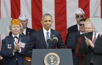 أوباما: الجيش الأمريكي مثال للتعاون والإيثار