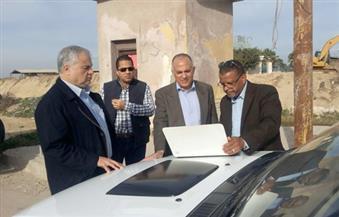 بالصور.. وزير الري يتفقد مشروعات الخطة العاجلة لحماية الإسكندرية وغرب الدلتا من مخاطر الأمطار
