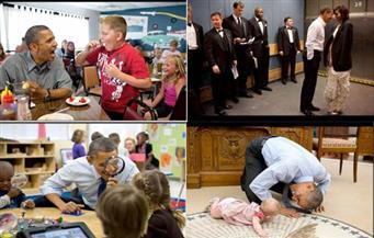 شاهد.. أفضل صور لأوباما يكشف عنها المصور الرسمي للبيت الأبيض