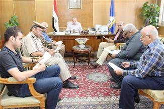 """بالصور.. محافظ دمياط: نقل موقف القاهرة والإسكندرية إلي """"شطا"""""""