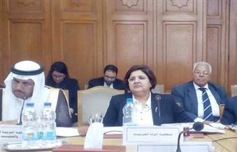 بالصور.. منظمة المرأة العربية تدعو لتضافر الجهود في الاجتماع الاستثنائي للعمل العربي
