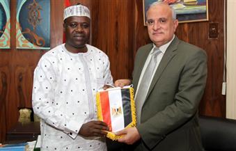 """بالصور.. جامعة طنطا تبحث سبل تطوير التعليم والبحث العلمي مع """"نيجيريا"""""""