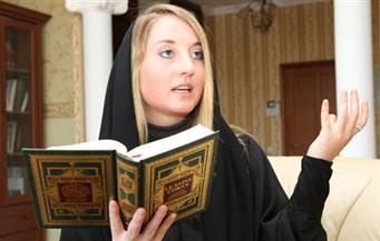 بالصور.. المستشرقة يانا كوروبكو: الحروب الحديثة مرتبطة بتشويه صورة الإسلام