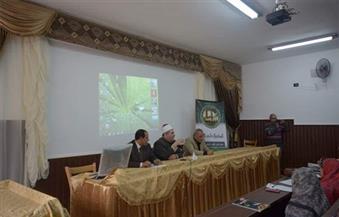 بالصور.. أبو هاشم  يُؤكد وسطية الإسلام ونشر السلام العالمي