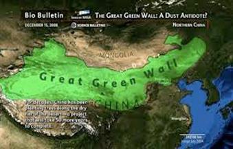 """الفاو: 10 ملايين هكتار سنوياً على طول """"السور الأخضر العظيم"""" بحاجة إلى استصلاح"""