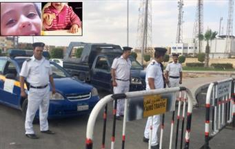 بالصور بعد مصرع طفلة الشروق.. أمن القاهرة يستحدث ارتكازات أمنية جديدة بالمدينة