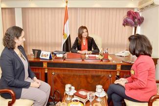 بالصور.. خلال لقائها نواب البرلمان.. مكرم: نتواصل مع مواطنينا بالخارج ونعمل على حل مشاكلهم