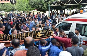 بالصور.. الإسماعيلية تُودع بطلة العالم للمصارعة إلى مثواها الأخير في جنازة مهيبة