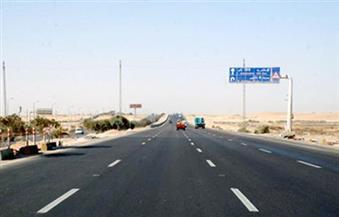 """تحويلات مرورية على طريق """"القاهرة - السويس"""" الصحراوي.. الأحد"""