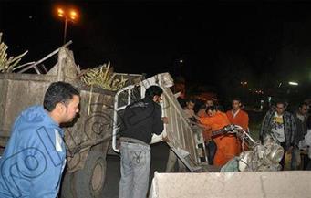 ضبط 132 حالة إشغال على الطريق العام بسوهاج
