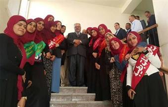 بالصور.. جولة تفقدية لرئيس جامعة الأزهر في كلية البنات بطيبة الجديدة