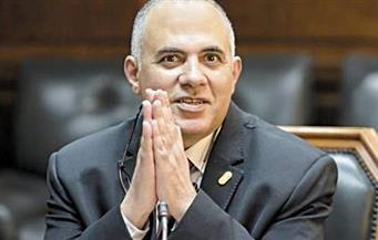 """""""وزير الري"""": مصر تعاني من محدودية الموارد المائية"""