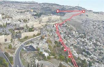 """القطارات الخفيفة صفحة جديدة في تهويد القدس """"إسرائيل تصادق على خطة لربط القدس بمستوطنات الضفة"""
