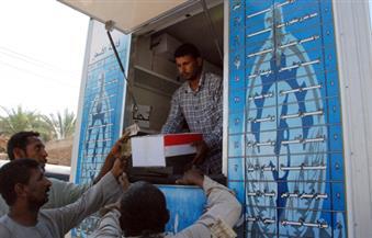 توزيع 1500 كرتونة مواد غذائية بمدينة دسوق بكفرالشيخ