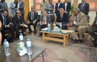 السفير الألماني بالقاهرة: 7 ملايين و600 ألف يورو حجم تمويل مشروعات المياه بقنا