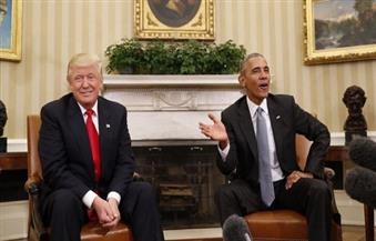 """أوباما يكتب كلمات أخيرة لـ""""ترامب"""" قبل مغادرة البيت الأبيض"""