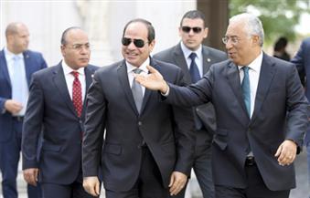 دى سوزا يوجه شكره للسيسى على دعم مصر لمرشح البرتغال لمنصب أمين عام الامم المتحدة