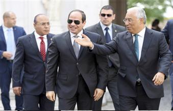 السيسي يلتقي رئيس وزراء البرتغال لبحث تعزيز العلاقات الثنائية وتطورات القضايا الدولية
