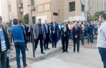 بالفيديو.. تشييع جثمان الدكتور يحي الجمل من جامعة القاهرة