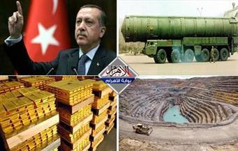 مباحثات الرئيس.. صورايخ ديمون.. تجمل أردوغان.. اقتحام منجم نحاس.. طوارئ المطار بنشرة منتصف الليل
